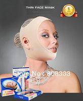new lycra thin face massage mask skin lifting 3D molding slimming face masks oval face shaping bandage mascara ovalado free ship