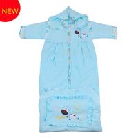 Retail Lovely Baby detachable Sleeve Sleeping bag Cotton Spring Autumn Winter Baby Girls Boys Sleepsacks Free Shipping