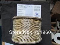 Promotions SS8.5/PP18 Preciosa rhinestone strass cup chain 248pcs/m 2.5mm no plating