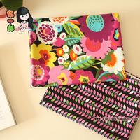 Vb 100% cotton cloth flat stripe print -  150cm handmade clothes fabric