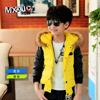 Children's clothing winter 2013 child cotton-padded jacket outerwear big boy cotton-padded jacket m7c343 male child wadded