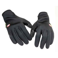 10 Pcs Outdoor Sports windproof Gloves Mountain Bike Cycling Motocycle Race Camping Hunting Slim Safety  Winter Warm Ski Glove