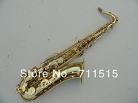 Wholesale - 62 gold tenor saxophone B surface gold
