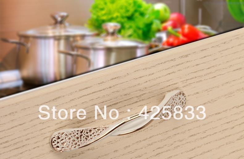 10pcs 128mm Ivory White Kitchen Knobs Cabbinet Kids Drawer Dresser Pulls Closet Desk Drawer Handles Kitchen Accessories(China (Mainland))