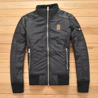 Wadded jacket winter outerwear jacket short slim design men's clothing the trend of the end of a single