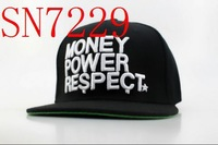 snapbacks hats,high quality and free shipping! nice black money snapbacks hat MIX order sell snapbacks SN7229