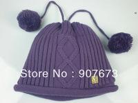 Free shippingWinter SKI Stretch Knit Beanie FOX Hat Women Cap Soft Warm Tow Functional EC7PP