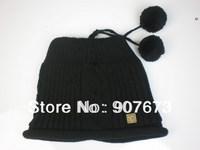Free shippingWinter SKI Stretch Knit Beanie FOX Hat Women Cap Soft Warm Tow Functional EC7A