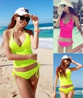 Women's swimwear new fashion strap split bikini swimming swimsuit