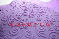 Sugar cake tools lucky rattan flower pattern sugar embossed mat silica gel print paper ct003