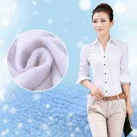 Hot Sale Winter Female Velvet Shirt Plus Size 2014 New Arrival Women's Thermal Long Sleeve Blouses Blusa Feminina Peplum Ladies