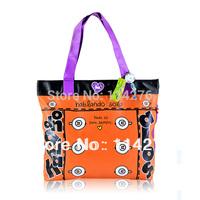Fashion Ladies Leisure Handbag,  colorful pvc printing shoulder handbags Manufacturers from Shenzhen SO-245