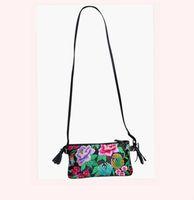 Diy embroidery women's genuine leather handbag mini bag portable one shoulder cross-body bag