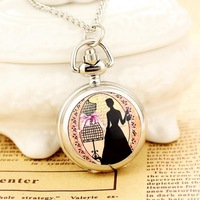 Chain Watch New 2013 Reloj De Bolsillo Dress Necklace Steampunk Wholesale Dropship 2013 Russia Hot high quality