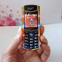 MINI K8 Unlocked cell phone Quad Band Dual SIM mp3 mp4 Mobile phone