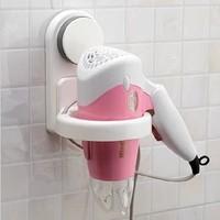 Sucker Innovative Items Bathroom Accessories Set Novelty Households Home Supply Spiral Hair Blow Dryer Holder Wall Hang Holder