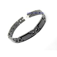 Mens Energy Power Bracelet Health High-Tech Ceramic Armband HEMATITE Magnetic