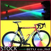 100pcs/lot(50pair) Hot LED bicycle Spoke wheel Light TL067