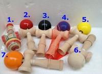 Hot sale! 150pcs Big size Kendama Ball Japanese Traditional Wood Game Toy Education Gift Wholesale &