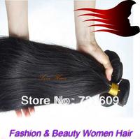 No tangle women Love Hair/unprocess virgin human real hair/popular hair weft weaving/fashion silky straight human hair 4pcs/lot