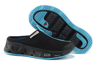 Guaranteed 100% Salomon Summer Casual breathable mesh Lazy people trample feet women and men lover shoes US:5-11
