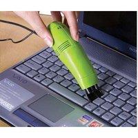 Convenient 1pcs/lot USB mini Keyboard cleaner COMPUTERS laptop Vacuum Cleaner E3095-green