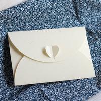 Personalized vintage brief western-style envelope