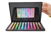 8.19 Sales Promotion!Free shipping Pro 88 Full Color Eye shadow Palette Natural  Matte Warm Color Eye Makeup Tool Set