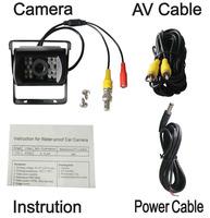 Universal Car Rearview Camera Car Backup Camera with waterproof night vision NO.CA404