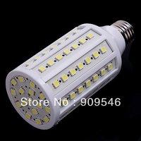 New outlet 15W 12V LED Lamp  E27 72 LED Corn lights SMD 5050 Super bright for Kitchen Home 360 degree Free Shipping x10pcs/lot