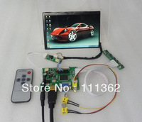 HDMI+2AV+VGA+Rear View Driver Board+Remote + 7inch N070ICG-L21 1280*800 IPS LCD