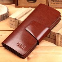 female women's long design wallet clutch male cowhide card holder