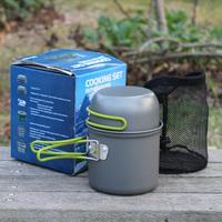 1 cookware singleplayer buzhanguo camping cookware field outdoor tableware portable