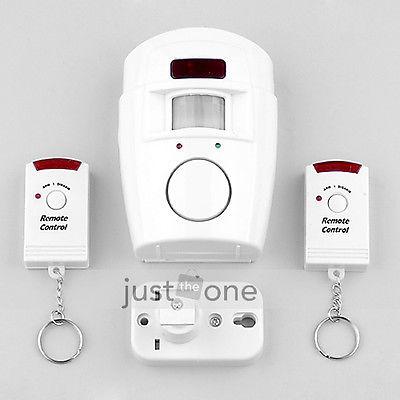 Livraison gratuite à puce nouvelle maison système 2 télécommande sans fil infrarouge ir motion sensor d'alarme détecteur de sécurité
