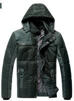 AFS JEEP down jacket,Hotsale 2013 Newest design High quality men down jacket Men's winter overcoat/Outwear/Winter jacket ,085