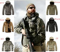 TAD V 4.0 Men Outdoor Hunting Camping Waterproof Coats Jacket Army Coat Outerwear Hoodie Army Green S,M,L,XL,XXL Free shipping