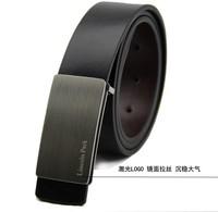 Free shipping 2014 HOT!!new High-end men's belt Fashion Genuine Leather Belt! 2 color! size:110-125CM! Free send epacket!