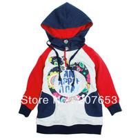 2014 new high quality NEW Free shipping 5pcs/lot children clothing baby girls hoodies sweatershirt