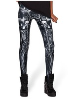 EASTERN KNITTING fashion BL-118 2013 new Mechanical Mermaid Leggings black milk pants women digital printed free shipping