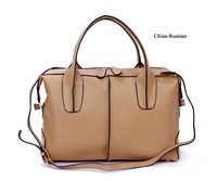 New Arrival 2014 Brand Fashion Genuine Leather Women Handbags 100% Cow Leather  Women Shoulder Bags Totes Handbags