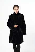 Fashion luxury 14 fur imitation mink goatswool mm plus size clothing