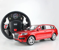 US -induced 2031F Audi -Q7 1:14 remote control car steering wheel remote control car remote control car charging large