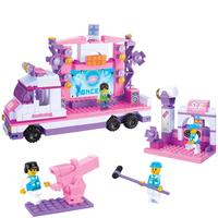 High Quality Children Kids Starlight Stage Construction Learning Education Bricks Bricks Building Blocks Sets ABS Toys