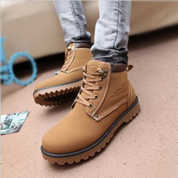 Wholesale England Spring Mens Boots complex Guma Ding boots male Korean fashion boots male boots tooling boots wearable