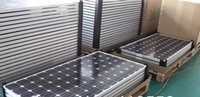 100W mono crystalline solar panel with free air express shipping