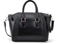 HOT SALING! 2013 New women handbag fashion brief crocodile pattern shoulder messenger bag leather bag