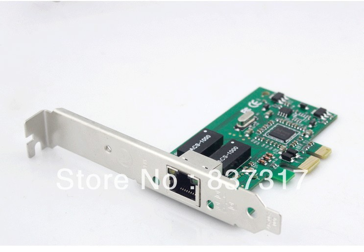 RTL 8111C Add-in NIC Card PCI-E 1000M Realtek Gigabit Nic with PXE for None Disk(China (Mainland))