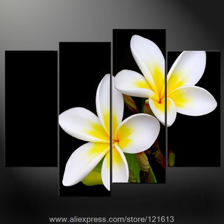 Tropical Flower Names Tropical Flowers Wall Art