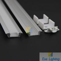 Free shipping- Profil LED LED Aluminum Profiles for Flexible LED Strip