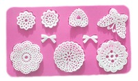 Flowers butterfly instant silicone lace mold cake mold baking tools kitchen accessories decorations for cakes Fondant
